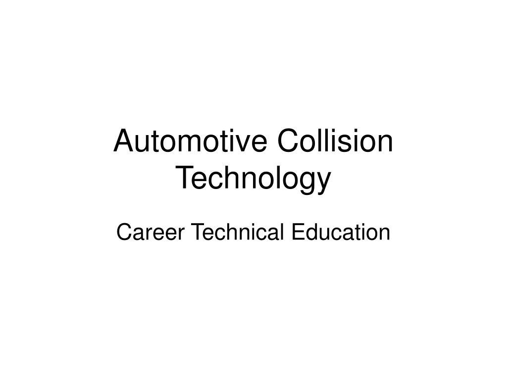 Automotive Collision Technology