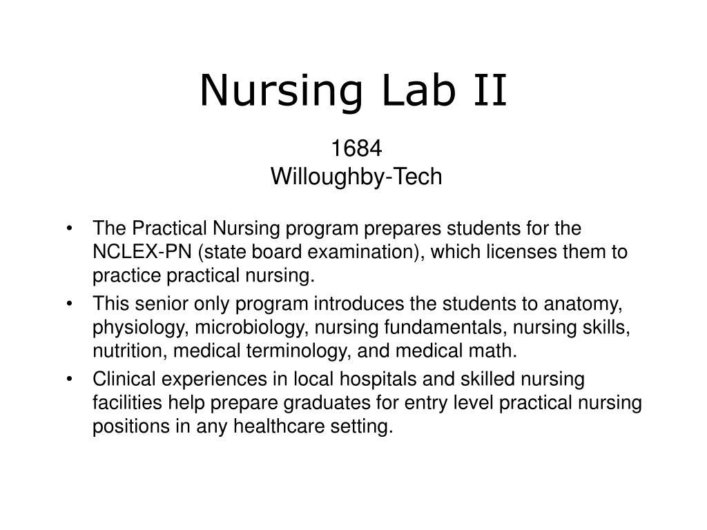 Nursing Lab II