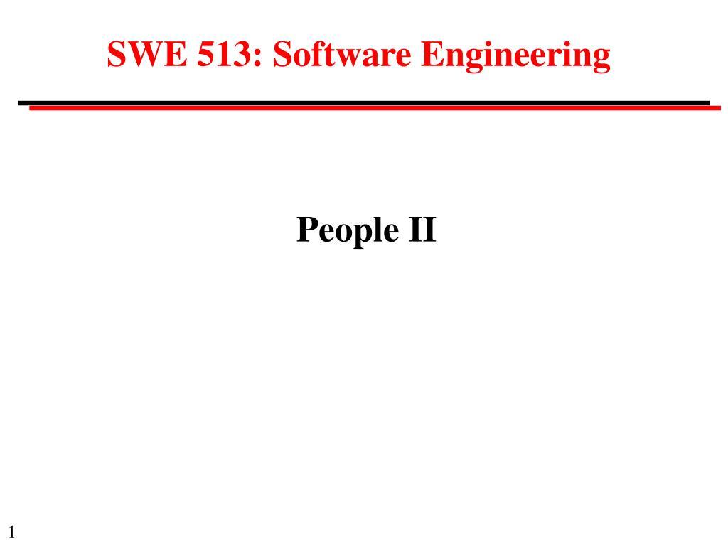 s we 51 3 software engineering
