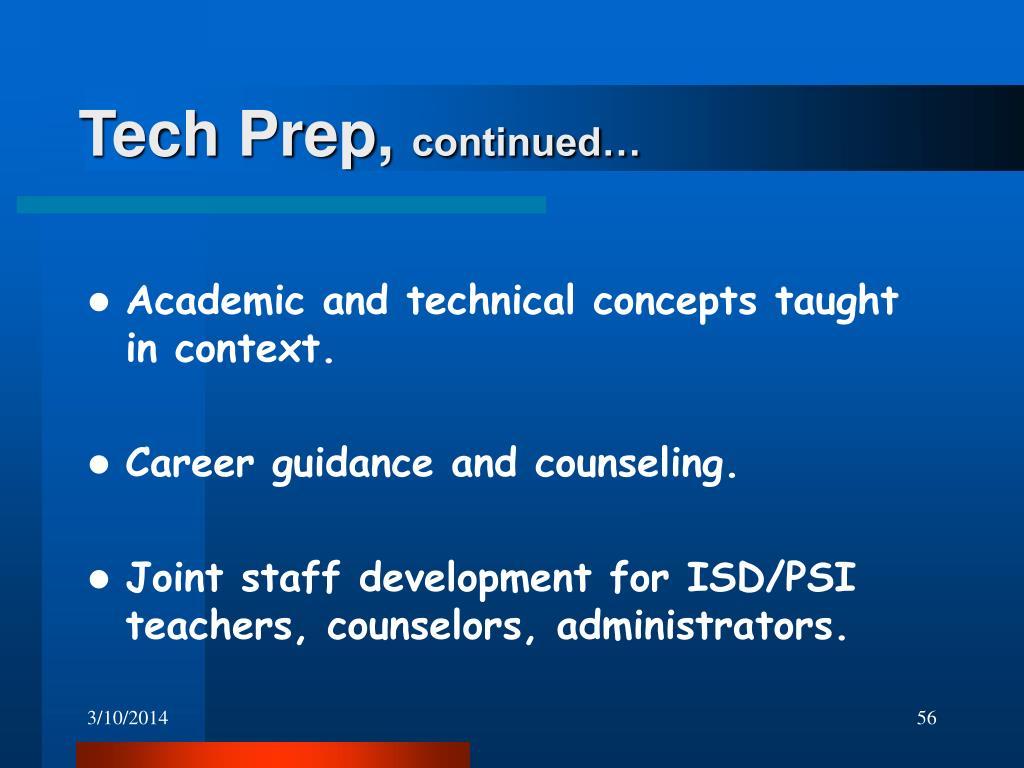 Tech Prep,