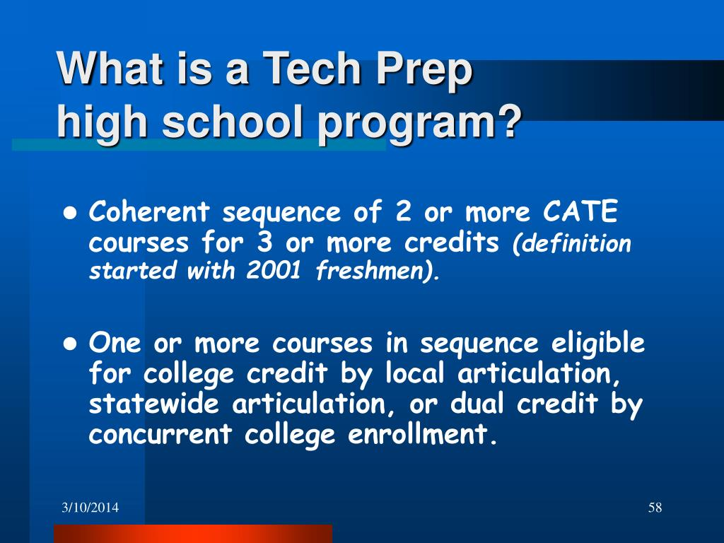 What is a Tech Prep