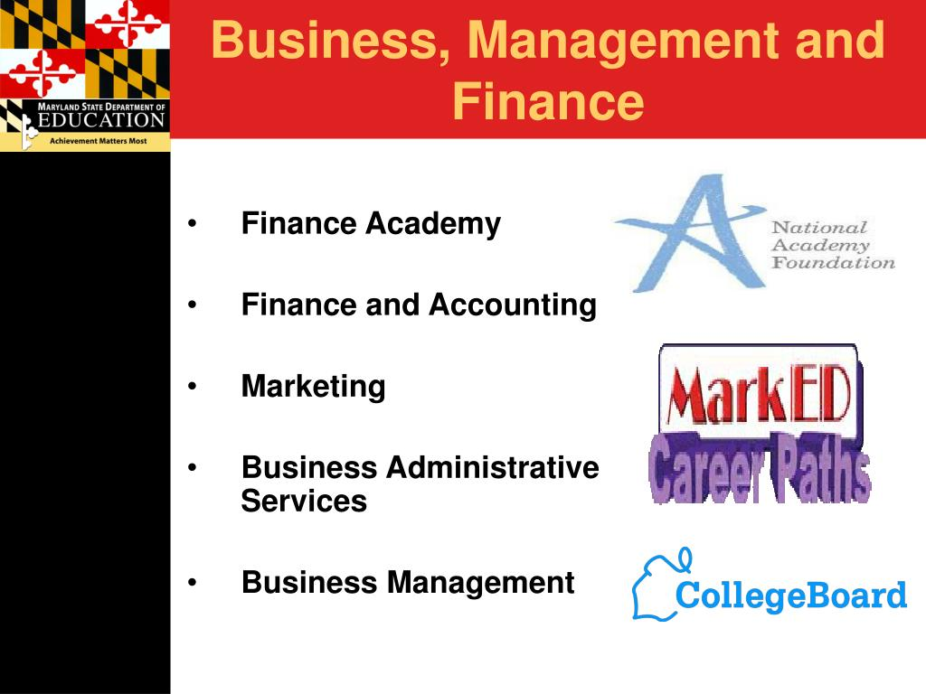 Business, Management and Finance