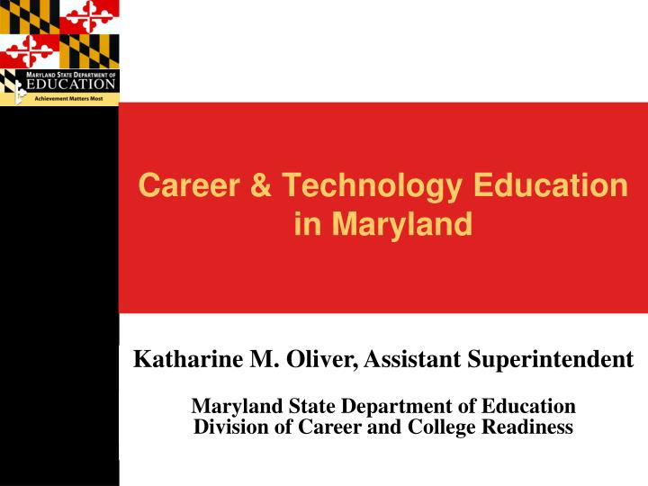 Career & Technology Education