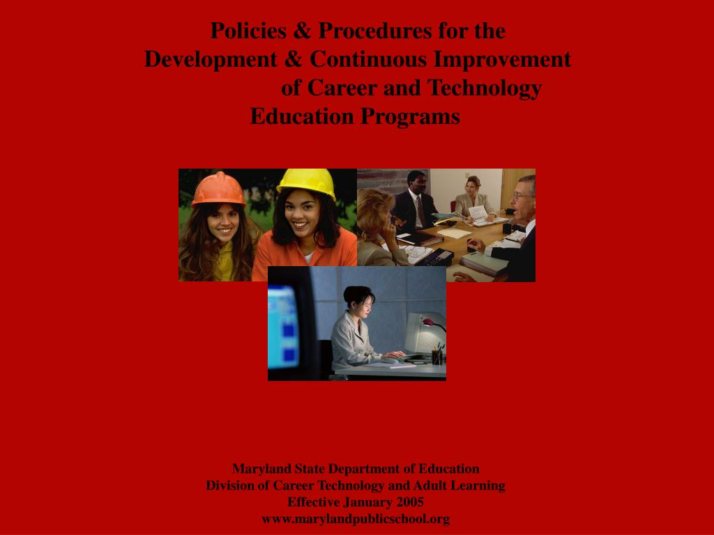 Policies & Procedures for the