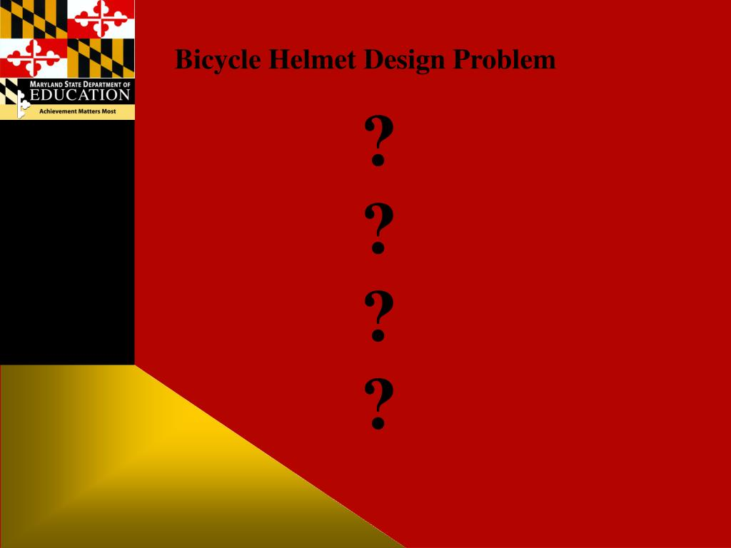 Bicycle Helmet Design Problem