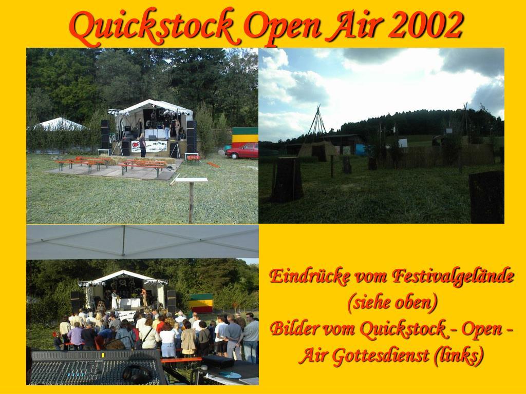 Quickstock Open Air 2002