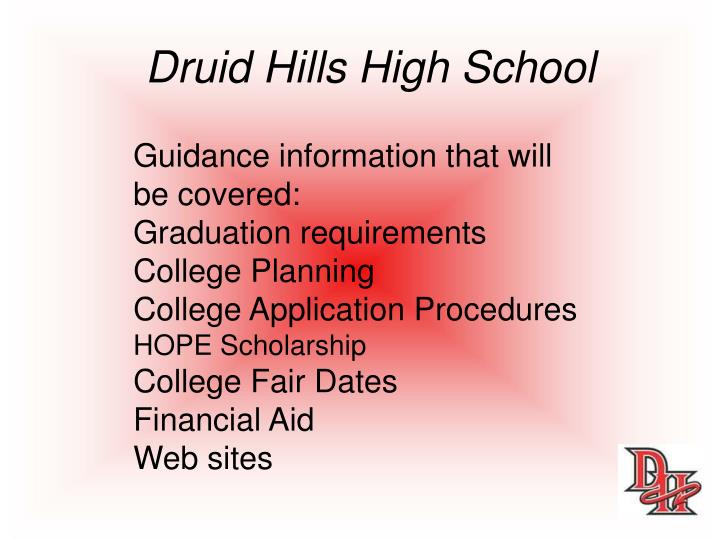 Druid Hills High School