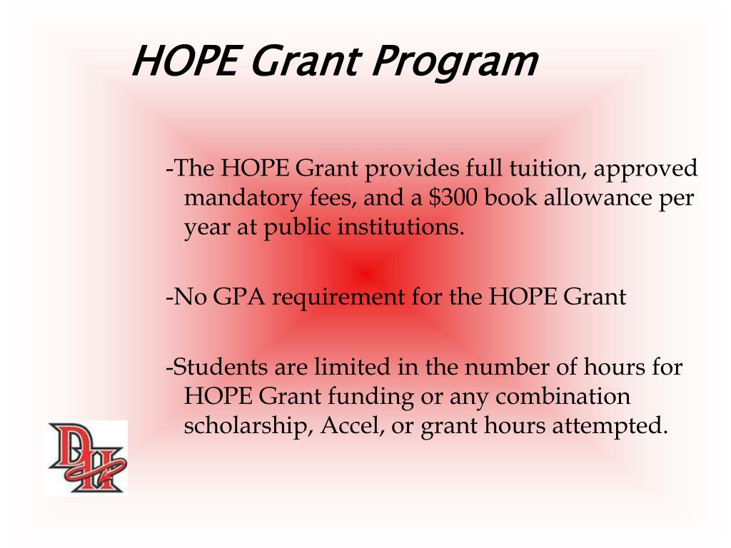 HOPE Grant Program