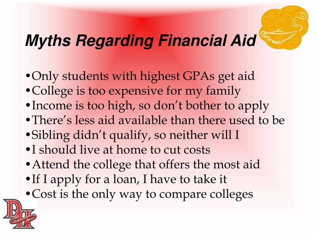 Myths Regarding Financial Aid