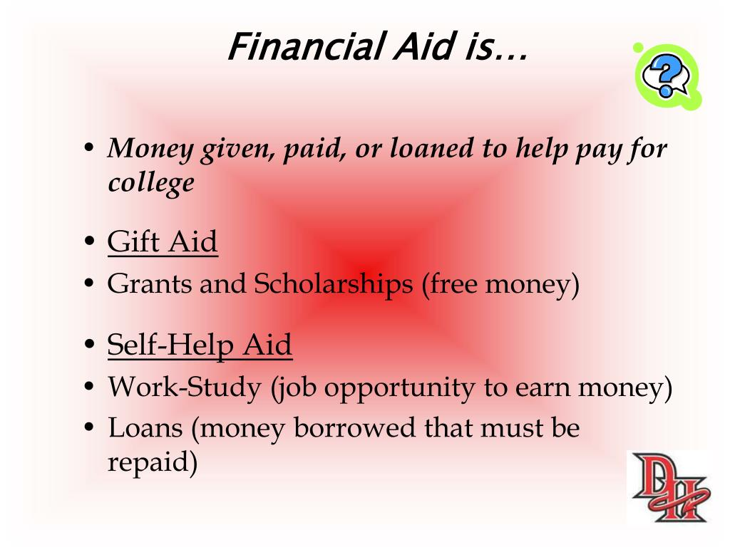 Financial Aid is…