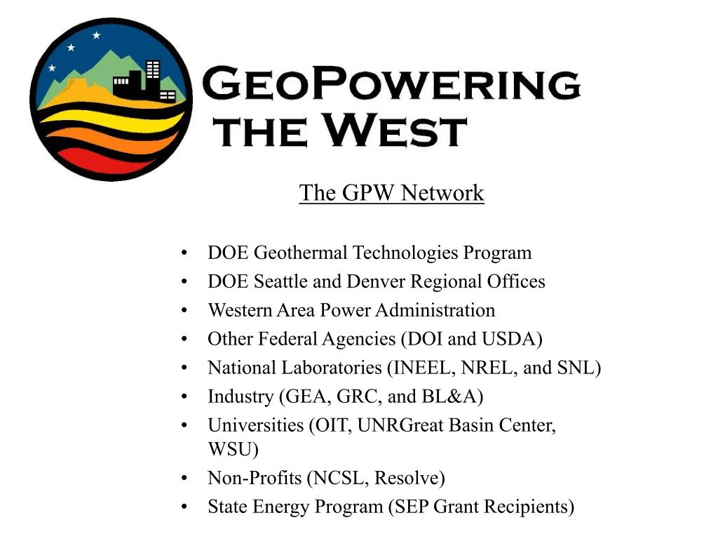 The GPW Network