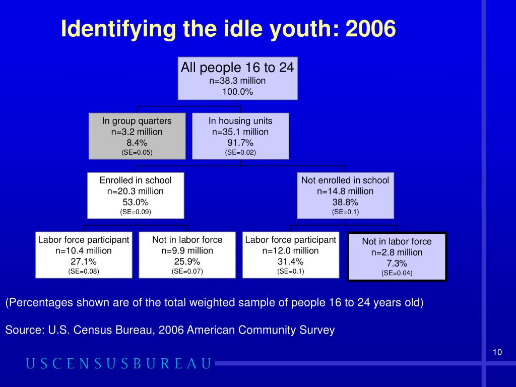 Identifying the idle youth: 2006