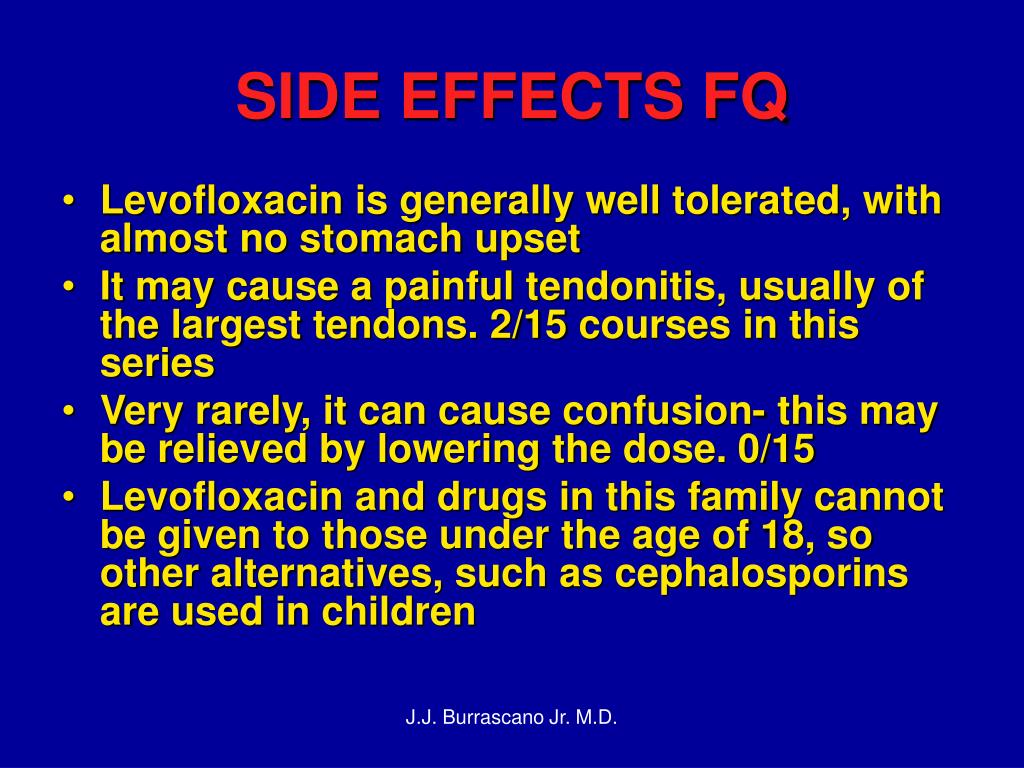 SIDE EFFECTS FQ