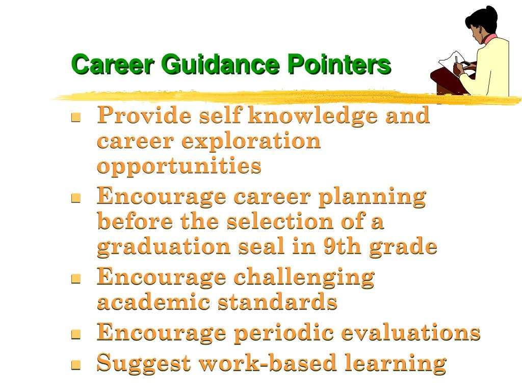 Career Guidance Pointers
