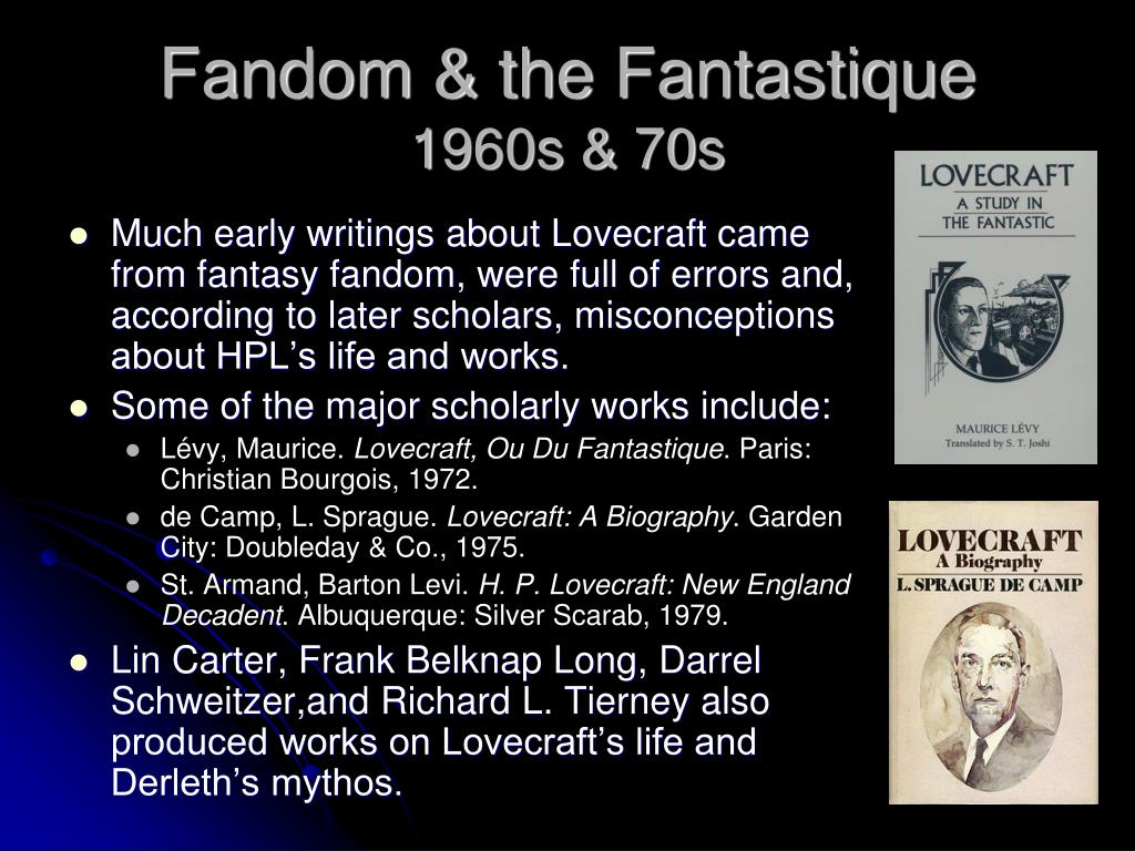 Fandom & the Fantastique