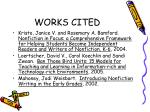 works cited23