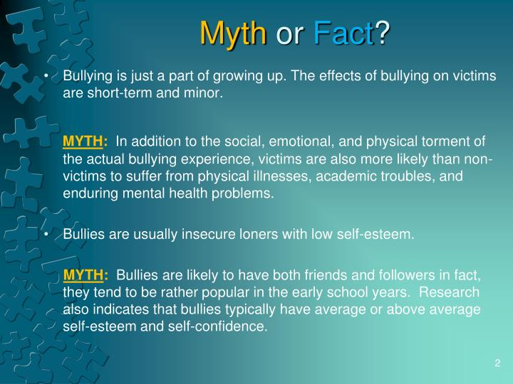 Myth or fact l.jpg