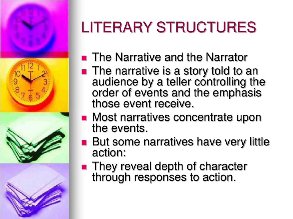 LITERARY STRUCTURES