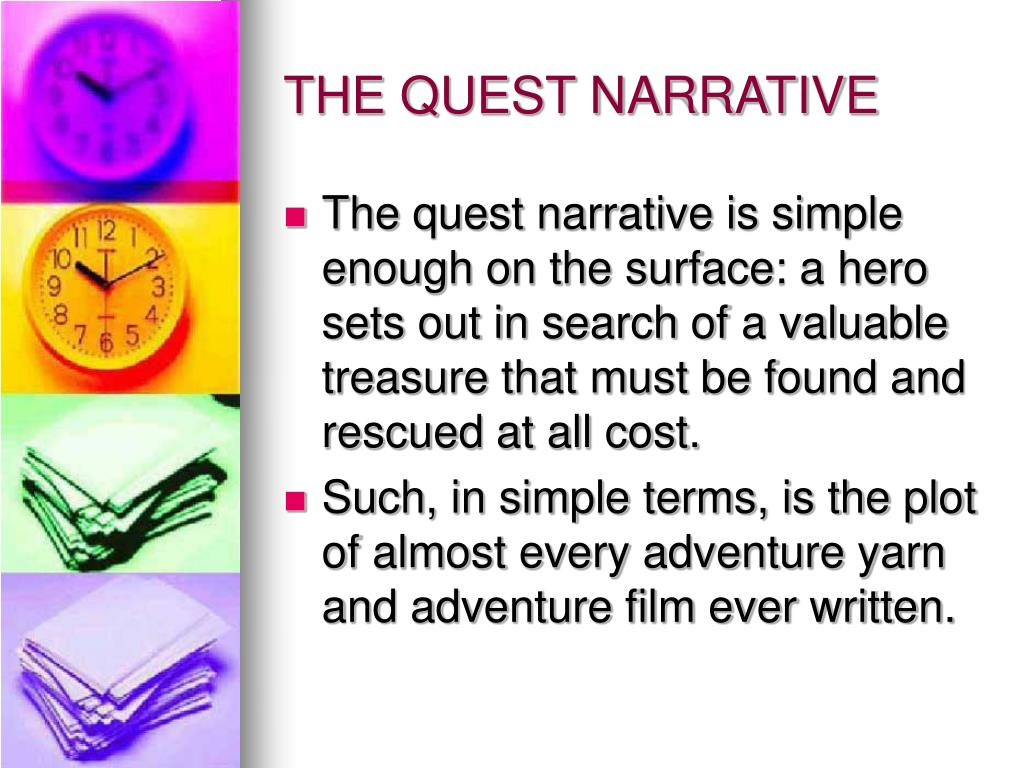 THE QUEST NARRATIVE