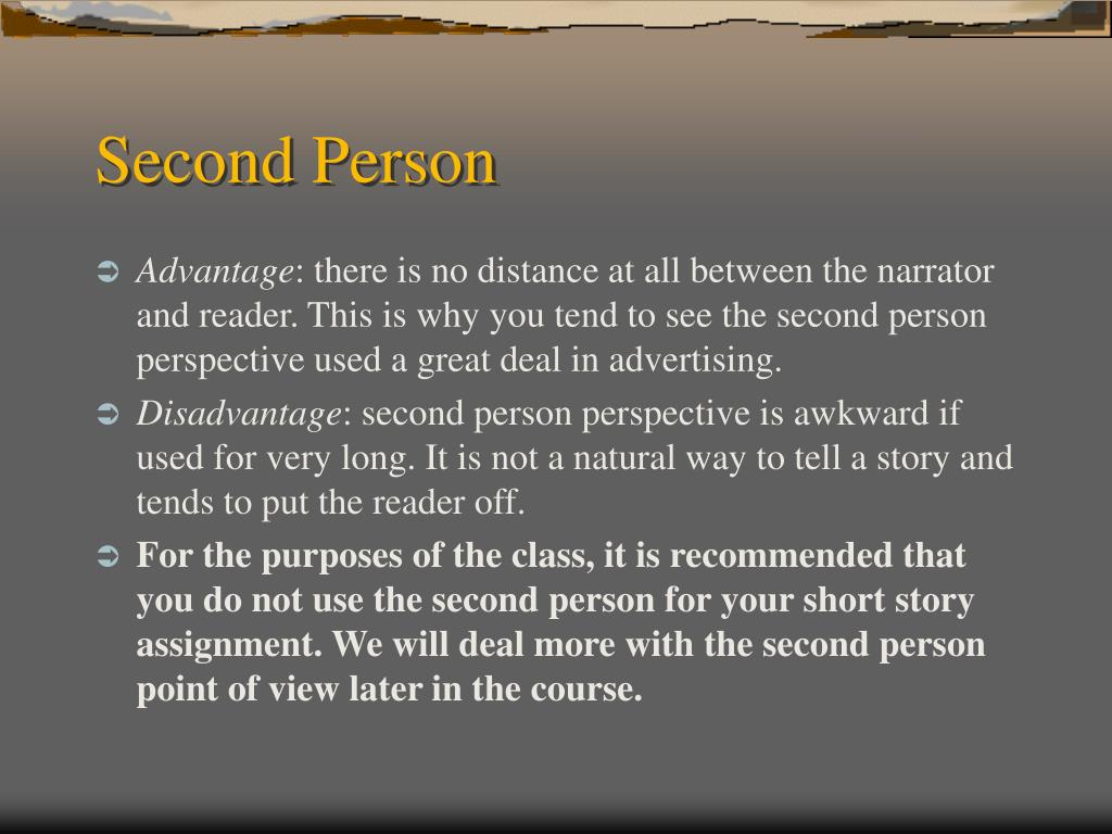 Second Person