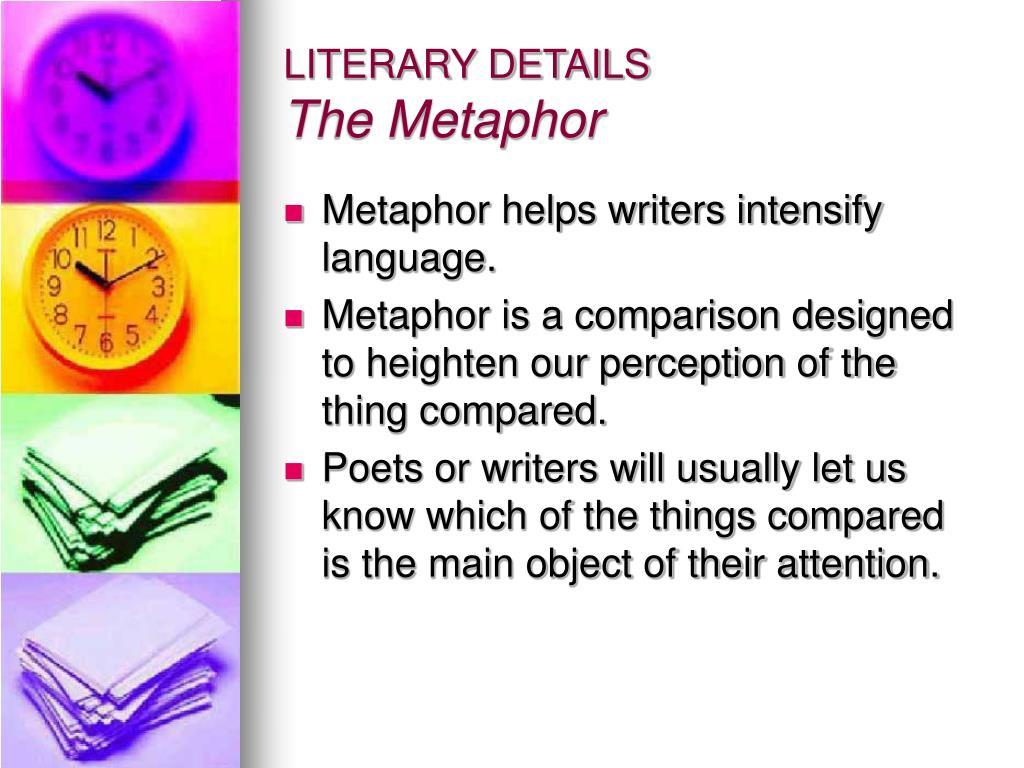 LITERARY DETAILS