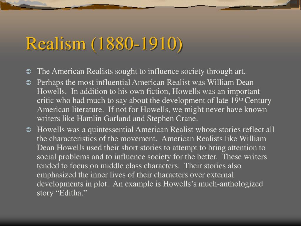 Realism (1880-1910)