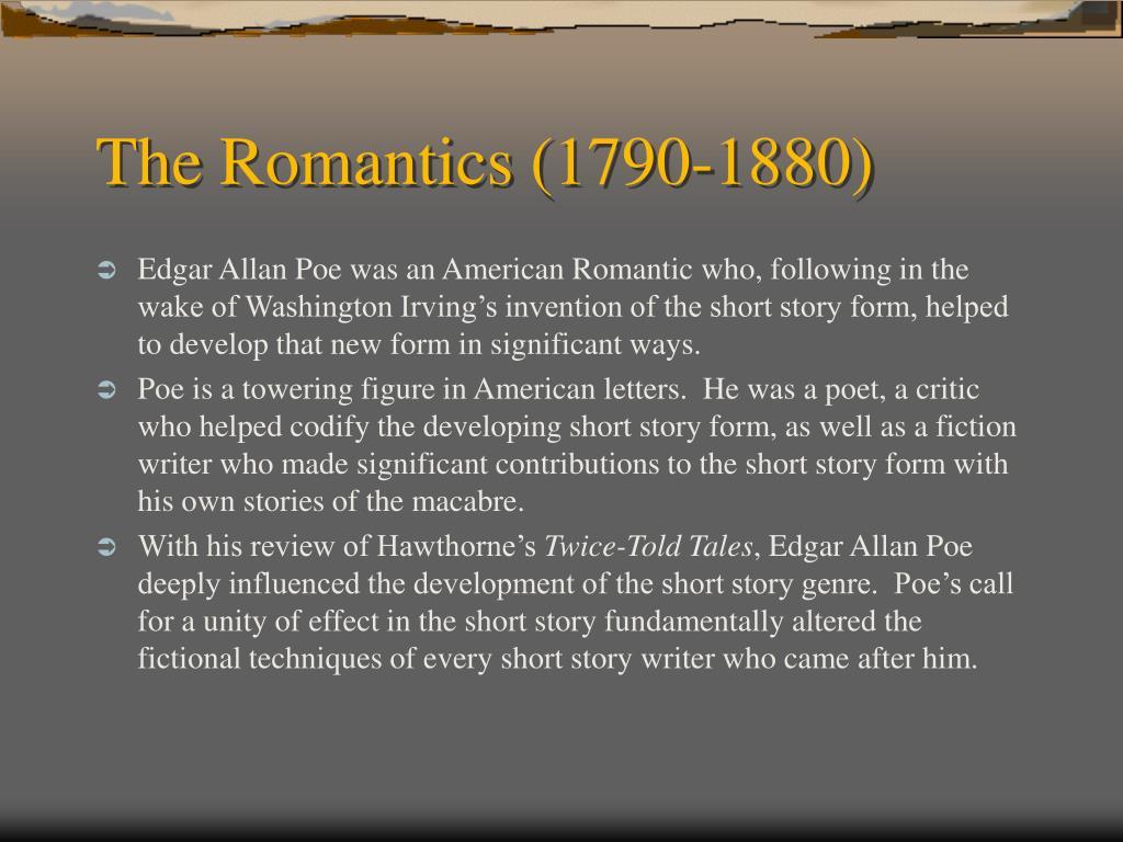 The Romantics (1790-1880)