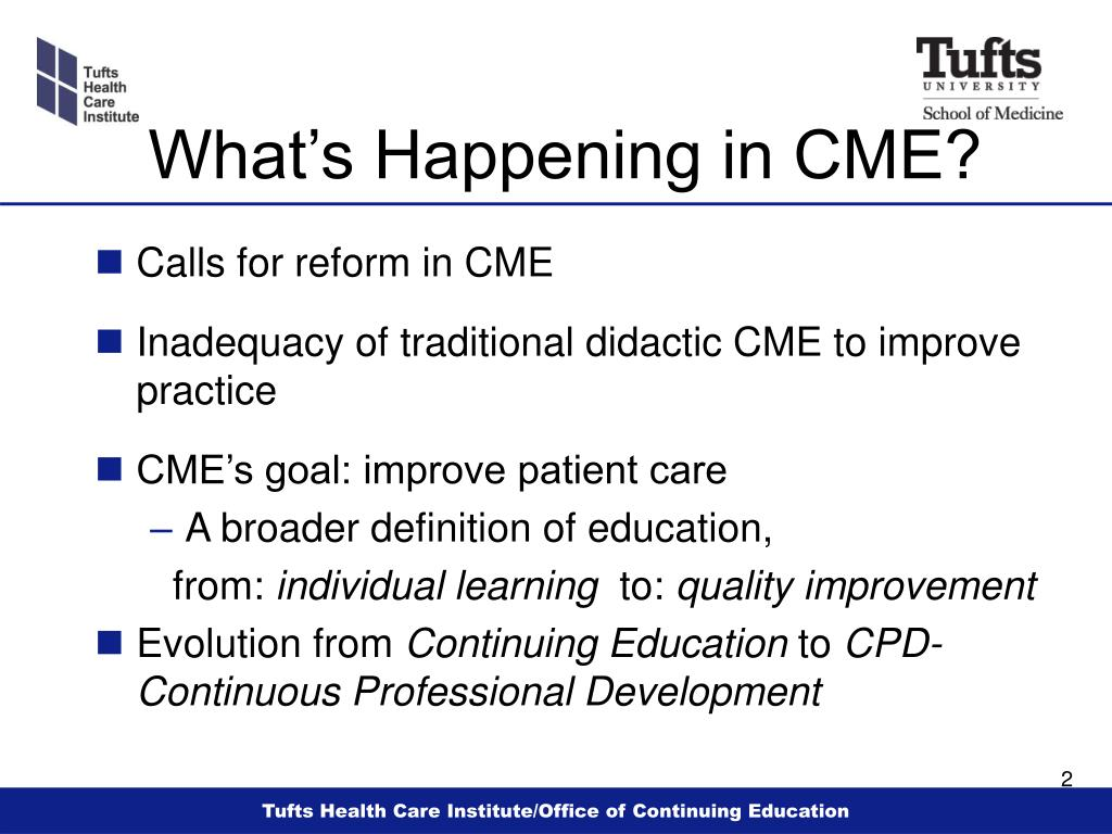 What's Happening in CME?