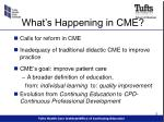 what s happening in cme
