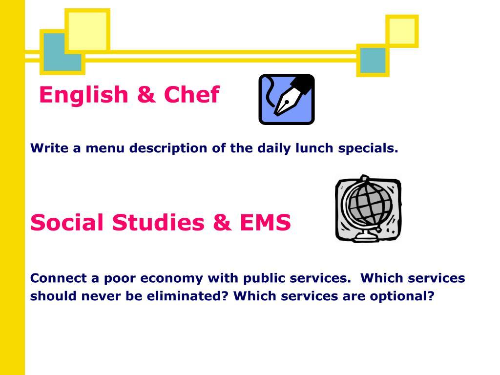 English & Chef