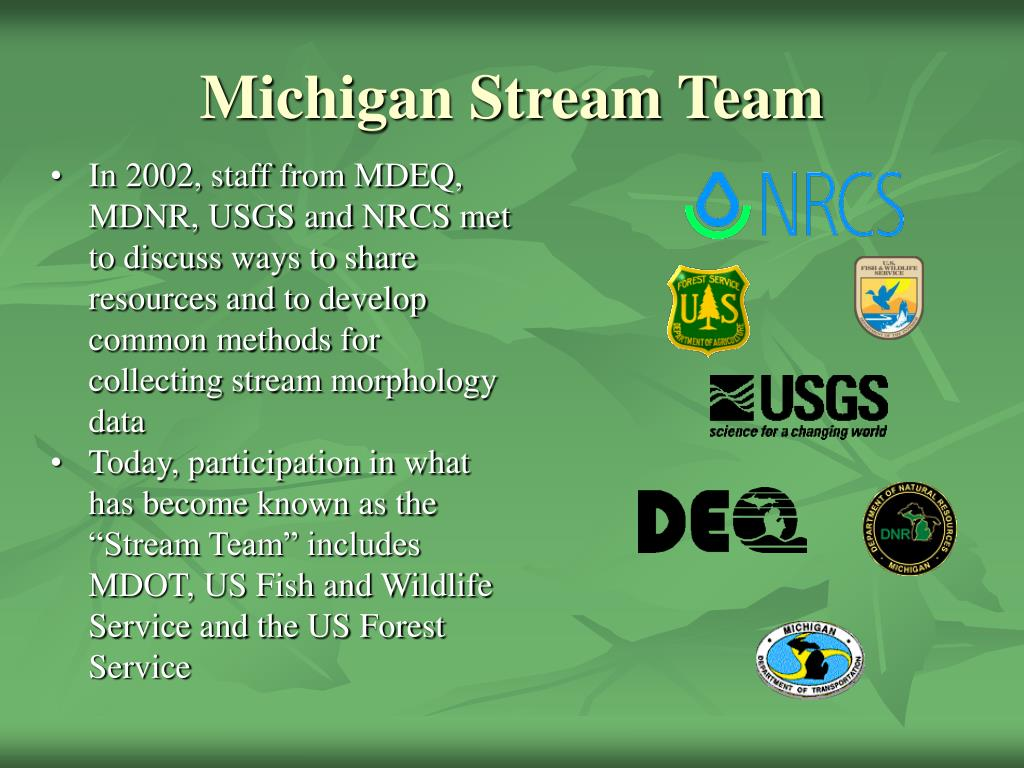 michigan stream team