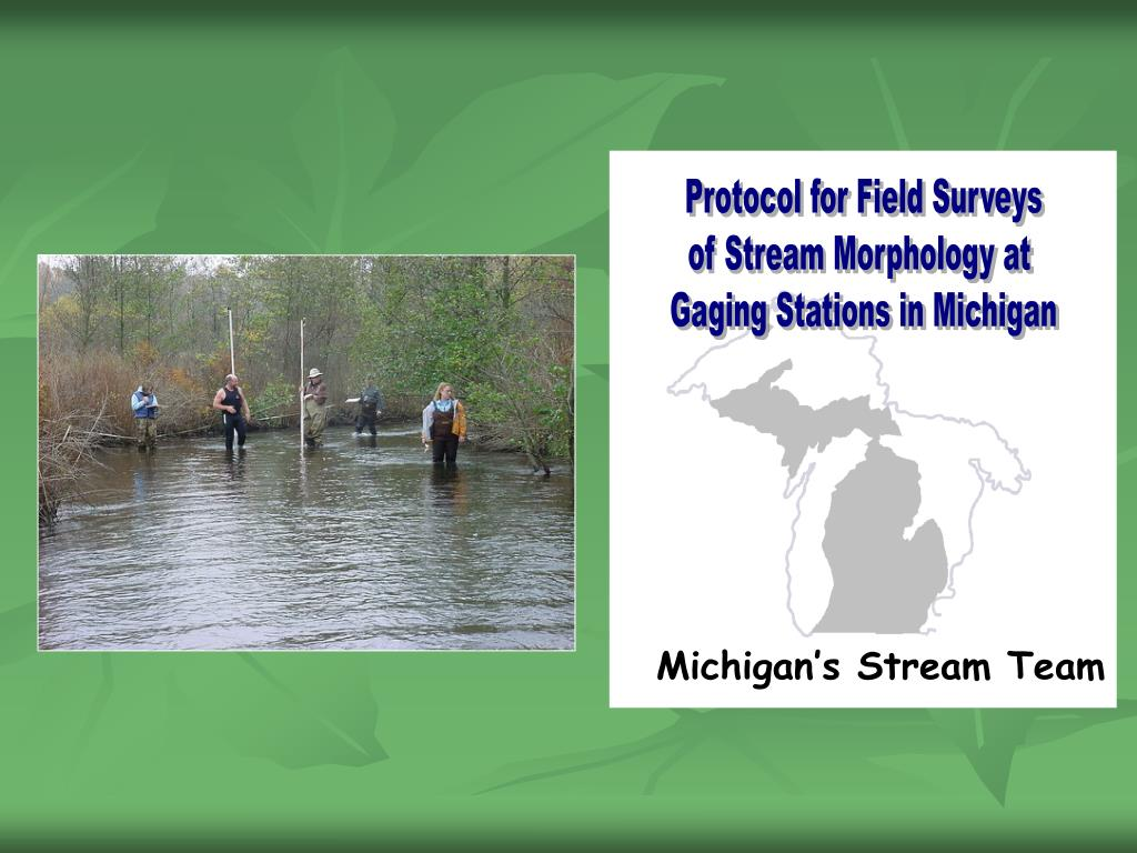 Protocol for Field Surveys