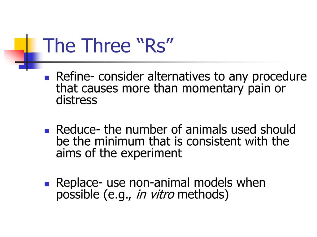 "The Three ""Rs"""