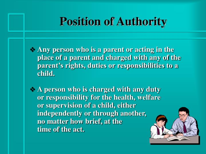 Position of authority l.jpg