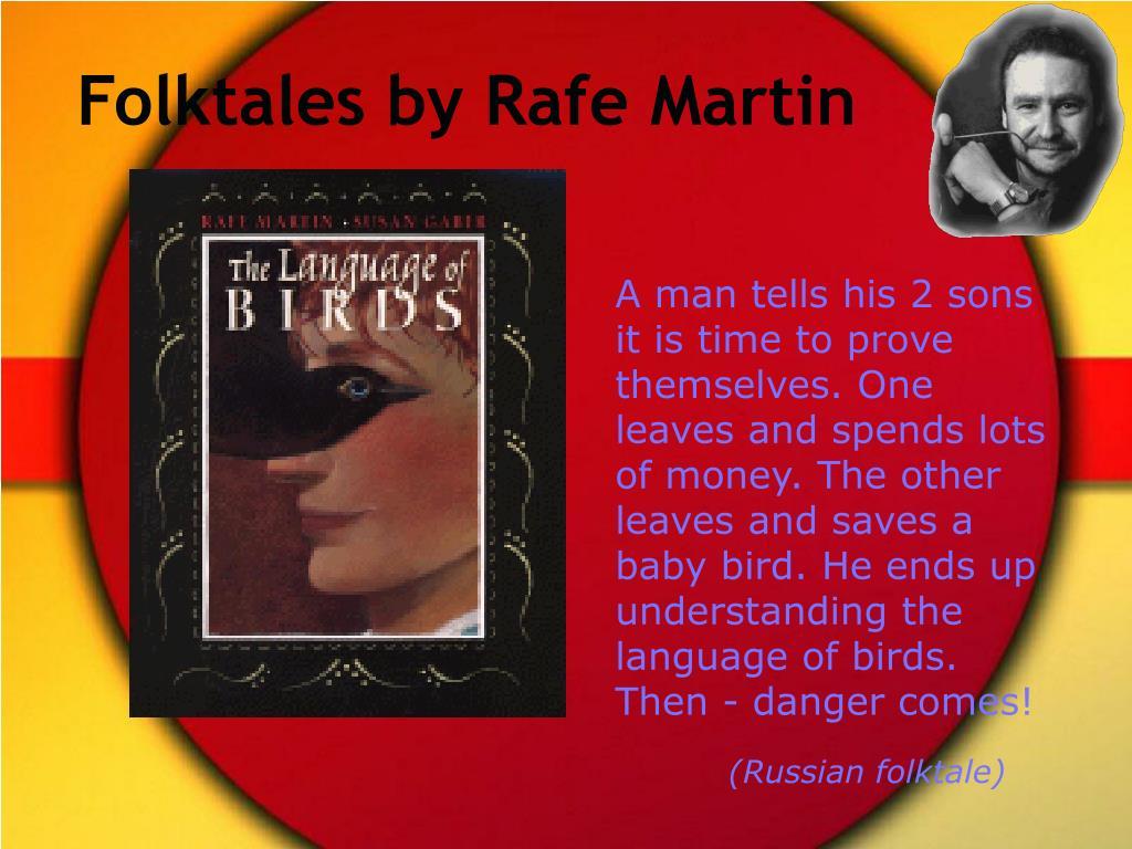 Folktales by Rafe Martin