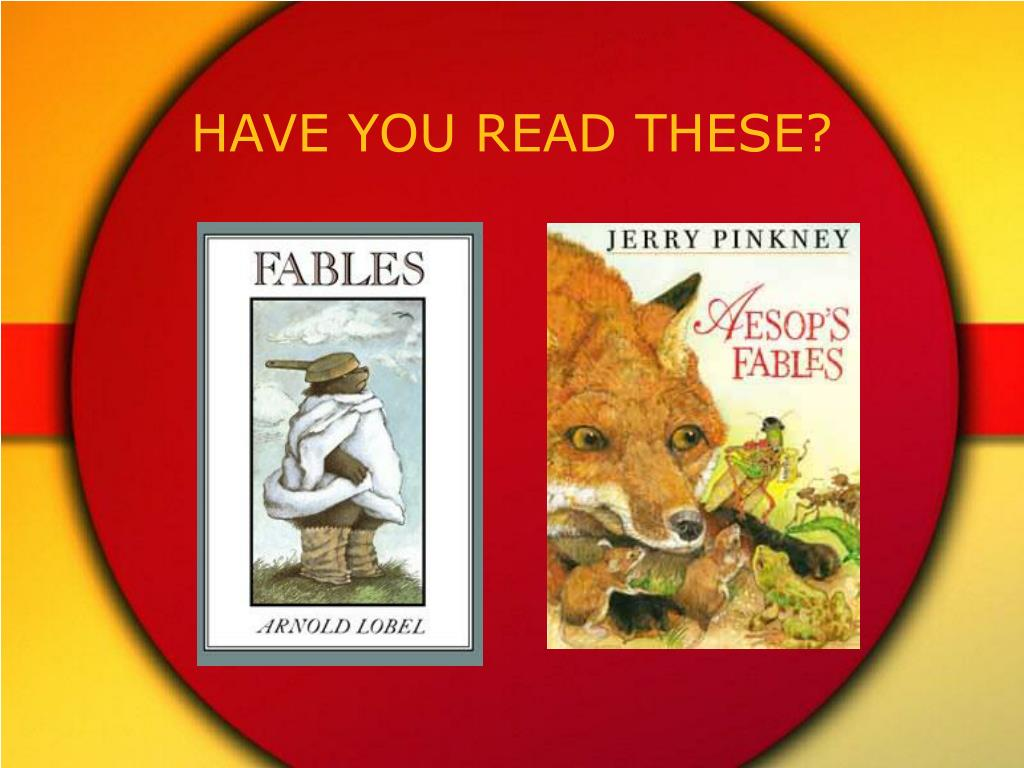 HAVE YOU READ THESE?