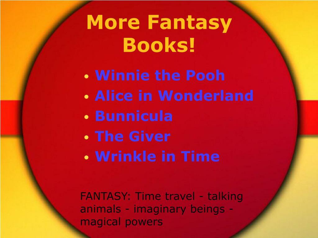 More Fantasy Books!