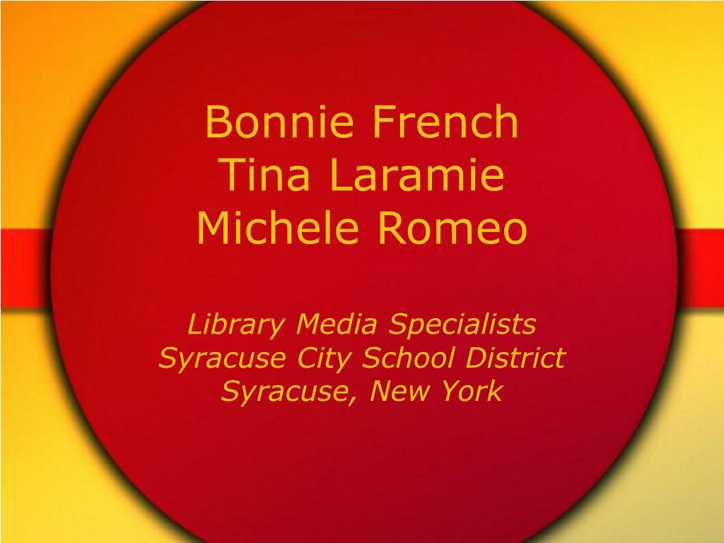 Bonnie French