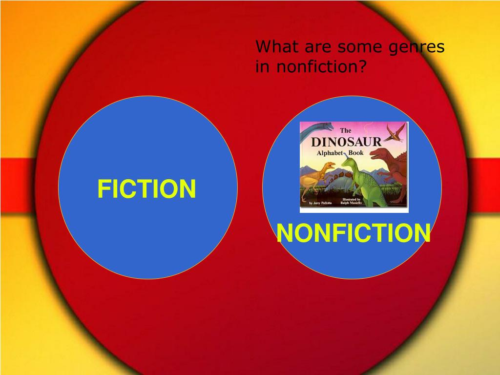 What are some genres in nonfiction?