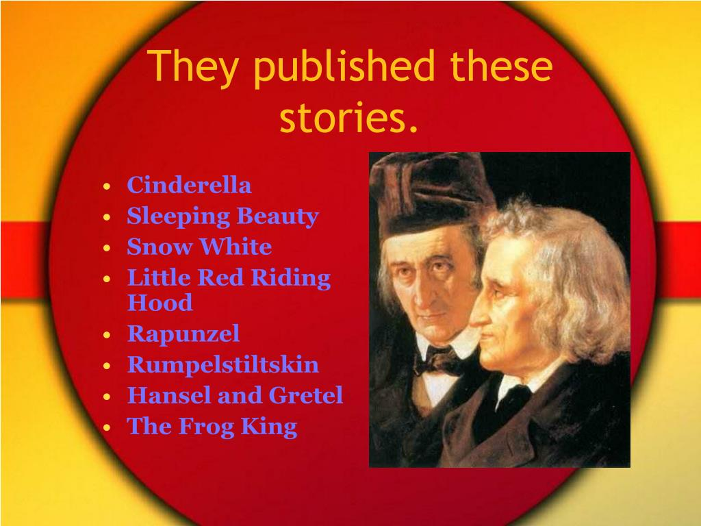 They published these stories.