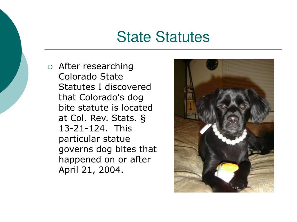 State Statutes