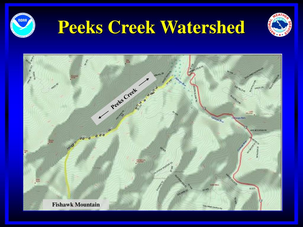 Peeks Creek Watershed