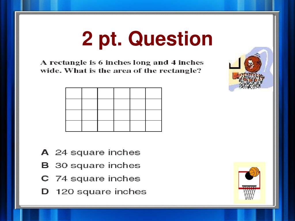 2 pt. Question