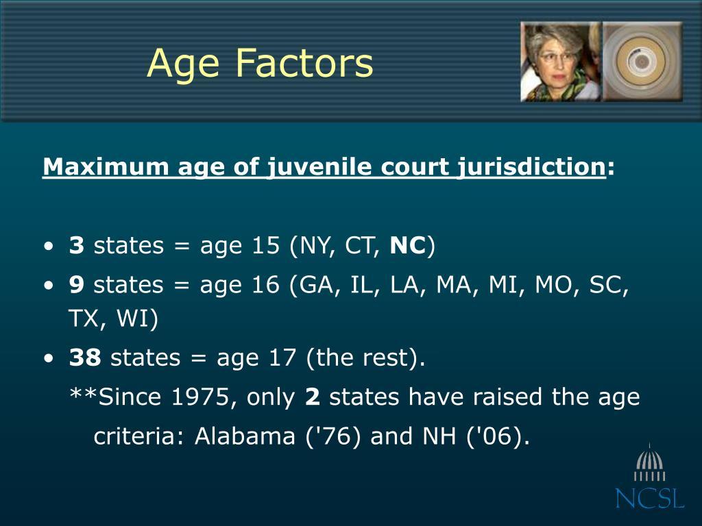 Age Factors