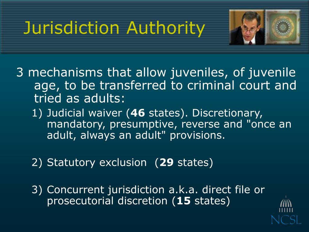 Jurisdiction Authority