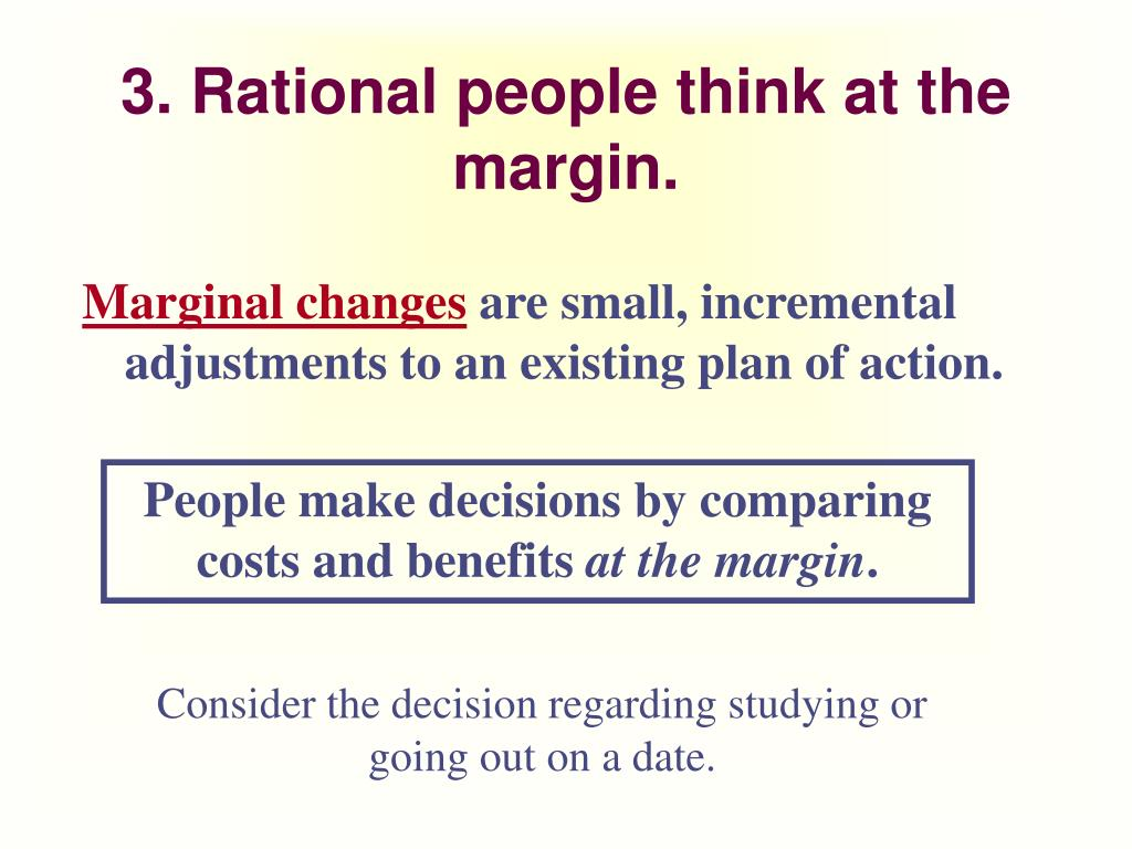 economics and rational people