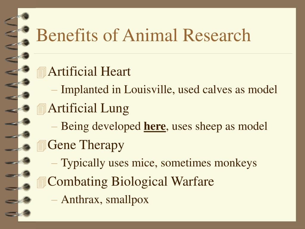 Benefits of Animal Research