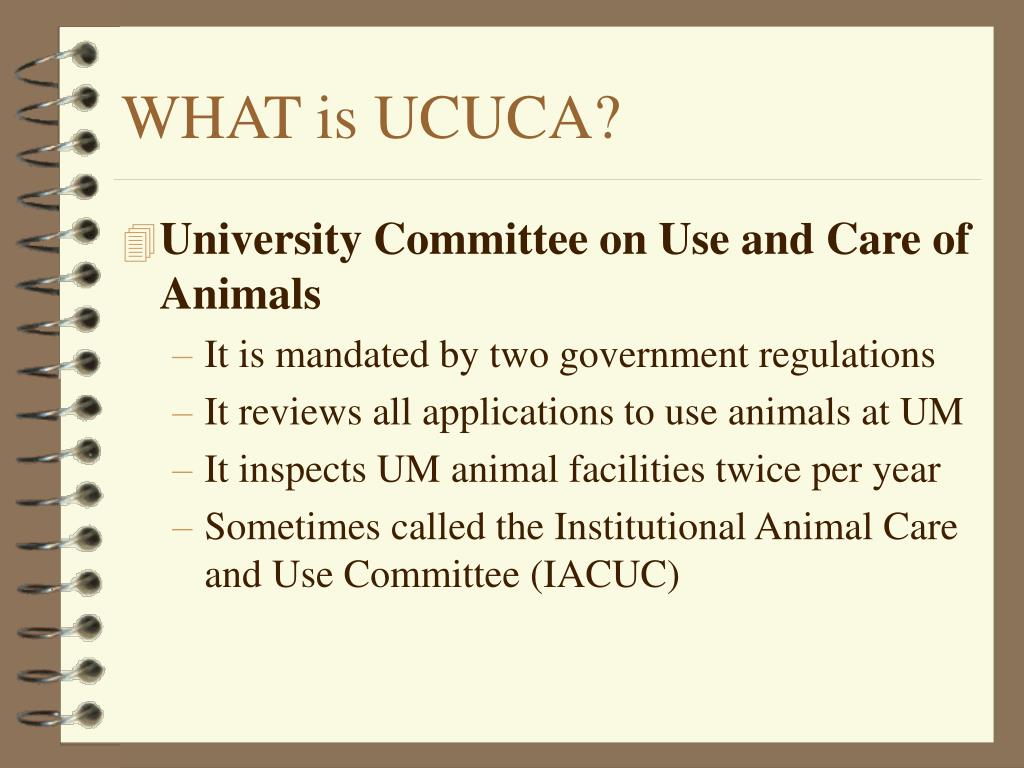 WHAT is UCUCA?