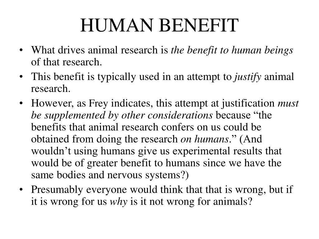 HUMAN BENEFIT