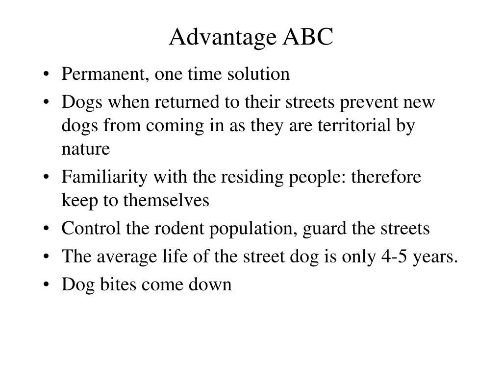 Advantage ABC